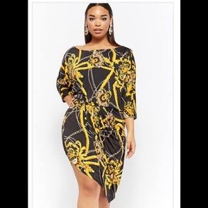 Plus Size Rope & Chain Dress